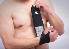 AU Tourmaline Self Heating Wrist&Palm  Brace Support Strap Magnetic Pain Relief