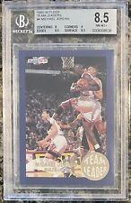 Michael Jordan 1992-93 Fleer Team Leaders #4 BGS 8.5 NM-MT+ Chicago Bulls