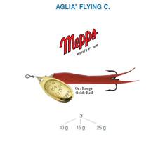Mepps Aglia Pêche C 10g 15g 25g Jaune Orange Noir Rouge saumon Leurre Rouge/ Or 15g