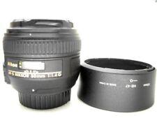 50mm Nikon Lichtriese 1:1.4G hell lichtstarkes für Tiere Sport Portrait Porträt
