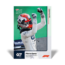 Topps Now Formula 1 - Card 001 - Pierre Gasly - First Victory at Monza