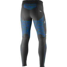 NEW RARE men's SALOMON S-LAB EXO TIGHT | medium | black union blue