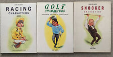More details for 3 x characters books (snooker,racing & golf)