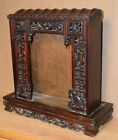 Antique Carved Wood Chinese Altar Qing Dynasty China For Religious Worship