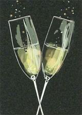 Anniversary Greeting Card  - Champagne Flutes