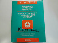 1995 Dodge Caravan Plymouth Voyager Chrysler Town & Country Service Manual OEM