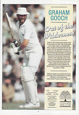 Essex & England Cricket Graham Gooch Signed Benefit Programme & 11 Essex Players