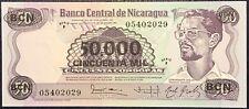 NICARAGUA 50.000 CORDOBAS 1987 UNC