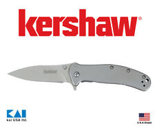 """Kershaw Knives 1730SS ZING SS Folding Knife 3"""" 8Cr13MoV Blade 410 Steel Handle"""