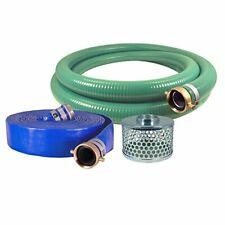 Eagle Hose Pvcaluminum Watertrash Pump Hose Kit 3 Green Suction Hose New