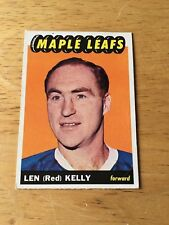 Topps Hockey 1965-66  Red Kelly Toronto Maple Leafs card #15
