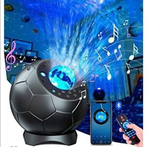 Soccer Ball Galaxy Starry Night Projector NEW