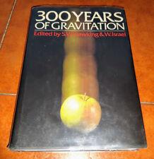 Hawking Israel 300 Three Hundred Years Of Gravitation Cambridge Press 1987