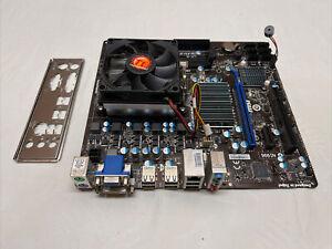 MSI MS7641 760GM-P23 Ver 4.0 AM3+ AMD mATX Motherboard + AMD FX-4130 CPU W/Fan