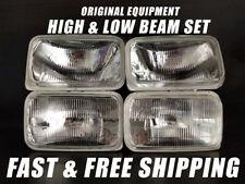 OE Fit Headlight Bulb For GMC V2500 Suburban 1989-1991 Low & High Beam Set of 4