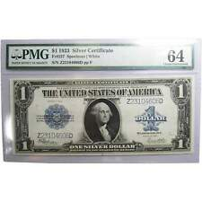 1923 $1 Large Size Silver Certificate Choice Uncirculated 64 Pmg