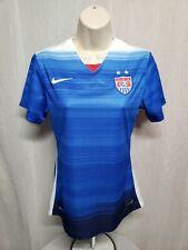 Nike 2015 Womens Small Blue US Soccer Football Jersey