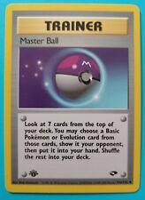 Pokemon Trainer Master Ball 1st edition - 116/132 - Gym Challenge - Near Mint