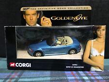 CORGI 04901 JAMES BOND DEFINITIVE COLLECTION 007 BMW Z3 ROADSTER - GOLDENEYE