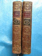 BLANCHARD : EXHORTATIONS DES MALADES, VIATIQUE, extrême onction, 1732. 2 vol.