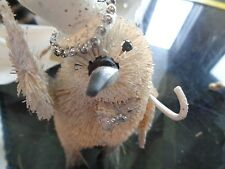 Pottery Barn Woodland Whimsy Penguin top hat ornament Christmas New