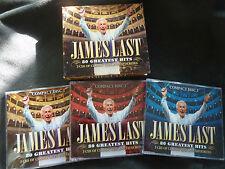 JAMES LAST 80 GREATEST HITS ULTRA RARE NEW ZEALAND ONLY 3 CD SET BOXSET!