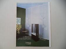 advertising Pubblicità 1982 ENZO BERTAZZO - MILANO