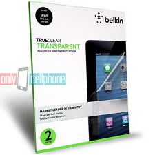 Belkin 2-Pack Clear Advanced Anti-Scratch Film Screen Protector for iPad 1/2/3/4