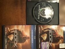 pitch black widescreen and riddick bluray dvd digital