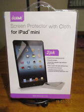 iWave 2 Pack Screen Protector With Cloth For iPad Mini  PACK NEW NIP