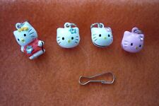 HELLO KITTY PET COLLAR CHARMS WITH SNAP