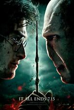 Harry Potter and The Deathly Hallows - Part 2 Movie Poster (2011) - 11x17 13x19
