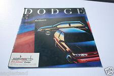Auto Brochure - Dodge - Colt - 1989 - Mitsubishi (AB302) - OS