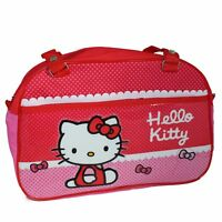 Hello Kitty 'Flying Bows' Shoulder Travel Bag - Cool official design - NEW