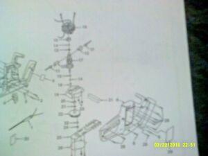 Ryobi / IDC Electric Hedge Trimmer Parts List HT516R, HT614, 616, 618, 622 etc