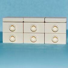 LEGO Furniture: Large Bedroom Dresser Chest (White)     [minifigure,sets,custom]