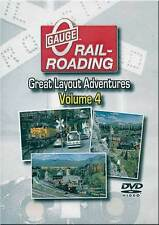 Great Layout Adventures Volume 4 DVD NEW Glenn Pinta, Bill Stolfa, Alan Goldman