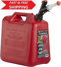 5 Gallon Gasoline Fuel Can Backup Plastic Container Gas Tank Portable Storage