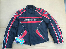 "RK SPORTS Mens Textile Motorbike / Motorcycle Jacket Size UK 38"" Chest (box 8)"