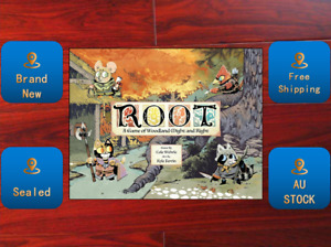 Root Base Game & The Riverfolk Expansion Combo Board Game Sealed New AU STOCK