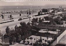 RICCIONE - Giardino Albergo S.Marco e Spiaggia 1952