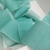 Turquoise Neat Edge Velvet Ribbon Wedding Sewing Trim Craft Christmas 1Mtr