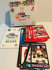 Team Out! Hockey Card Game Set, NHL: NHLPA, by Ultimate Line-up Inc., 1996