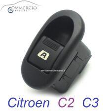 Pulsante Alzavetro Alzacristalli Citroen C2 C3 Pluriel Lato Guida o Passeggero