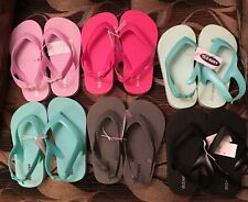 Old Navy Baby Flip Flops SIZE 8~Boys & Girls~GREY,BLACK