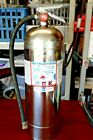 American LAFRANCE Vintage Badger WP-61 Water Extinguisher Stainless 200 PSI 2.5G