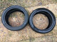 2 Michelin Pilot Sport Car Tyres Part Worn 235 40 18 235/40R18 95Y Extra Load