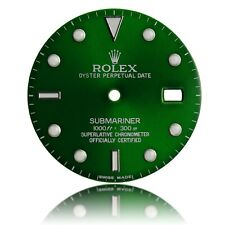 For Rolex Submariner Stainless Steel Green Dial
