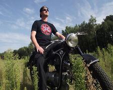 T-Shirt Biker extrem schwarz Gr. L Harley, Rocker,MC Motorrad american oldtimer