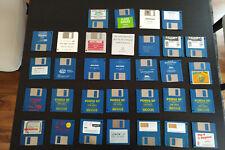 Sammlung von Original-Spielen auf Diskette für Commodore Amiga 500 - Klassiker!